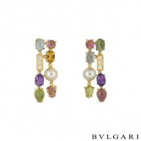 Bvlgari Yellow Gold Allegra Earrings